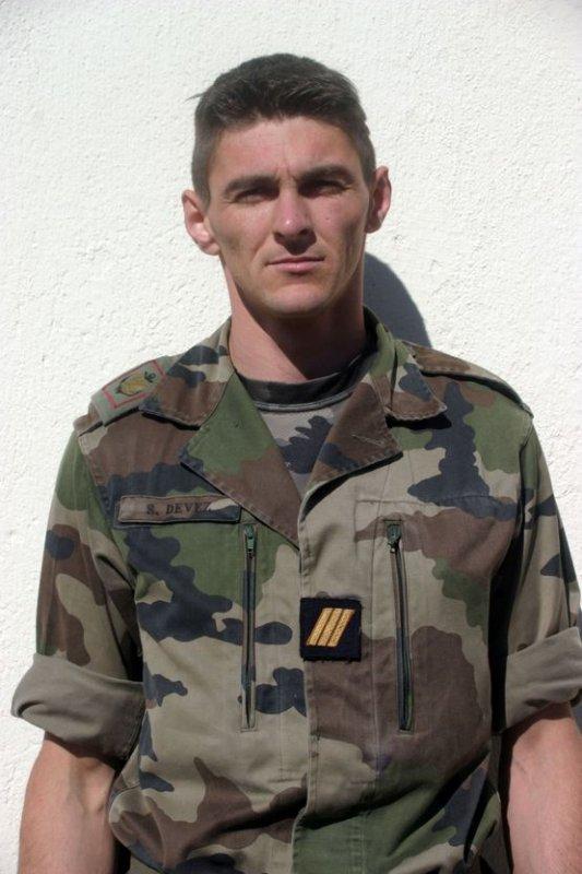 Sergent-Chef  Sébastien  Devez