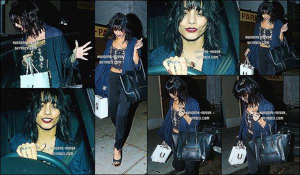 - 20/11/14 : La belle Nessa a été photographié quittant son salon de coiffure Nine Zero One dans West Hollywood  Comme vous pouvez l'apercevoir, Nessa a de nouveau opté pour sa couleur naturelle avec sa frange, ça faisait tellement longtemps. top flop ?! -