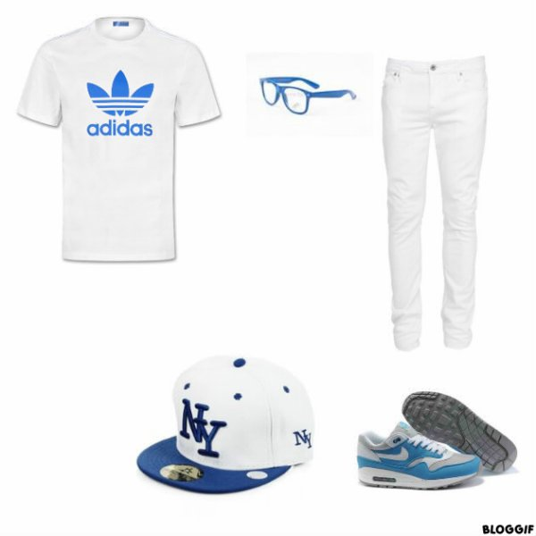 tenue homme blanche et bleu habillage de peronnages rpg. Black Bedroom Furniture Sets. Home Design Ideas