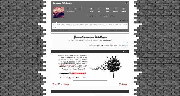 Habillage monocolonne n°66