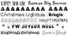 Pack d'ecritures n°16 (special Noel)