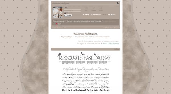 Habillage monocolonne n°219