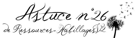 Astuce n°26: Devenir page (blog) source