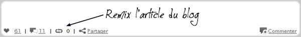 Astuce n°27: Remixer un article