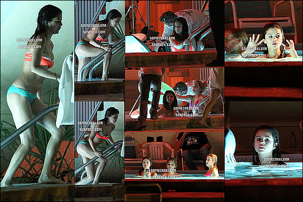 """.  13/03/12 :  Comme toujours, Selena était sur le tournage de """"Spring Breakers"""" Ashley B. et Vanessa H.  ."""