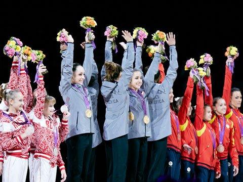 Quelle nation mènent la danse en Gymnastique Artistique ?