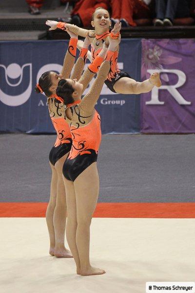 Gymnastique Acrobatique: L'elite française se réorganise