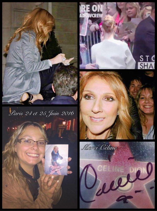 23 ans que j'attendais ce moment mon rêve est devenu réalité !!! Merci ma Celine !!