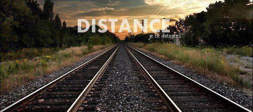 Chère distance de M E R D E .