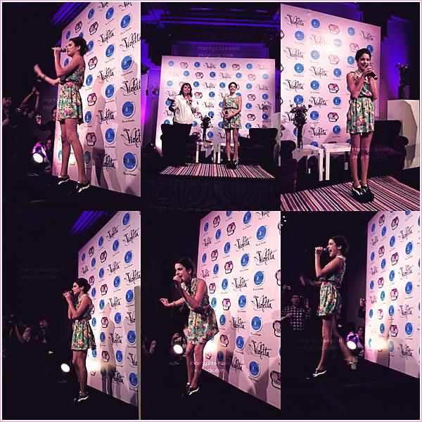 06.04.2013 - Martina en Meet&Greet dans le magasin «París» au Chili.