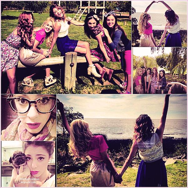 22.04.2013 - Martina était l'invité spécial de l'émission «Pura Quimica».