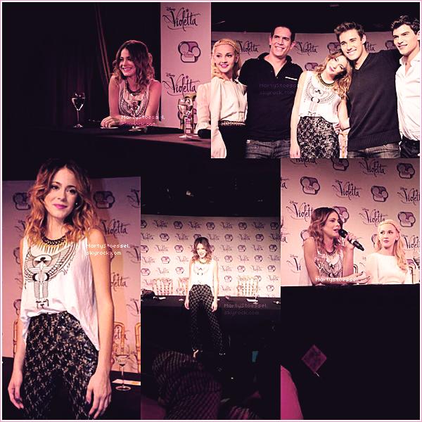 26.04.2013 - Martina était dans l'émission U-Mix Show.