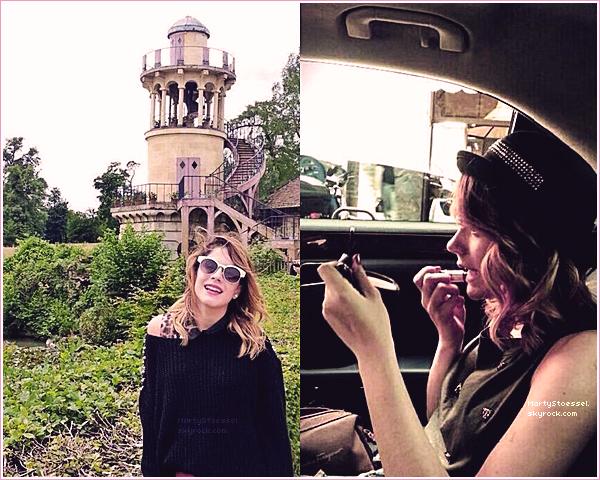 14.06.2013 - Martina se préparant pour le showcase de Paris.