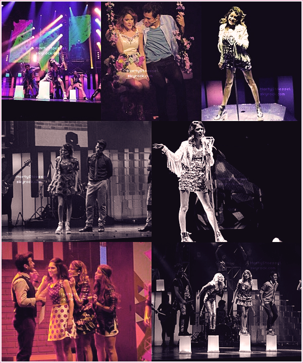 17.07.2013 - Martina a performé pour «Violetta en Vivo» au Gran Rex.
