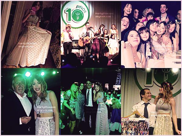 30.08.2013 - Martina s'est rendue à la fondation Baccigalupo.
