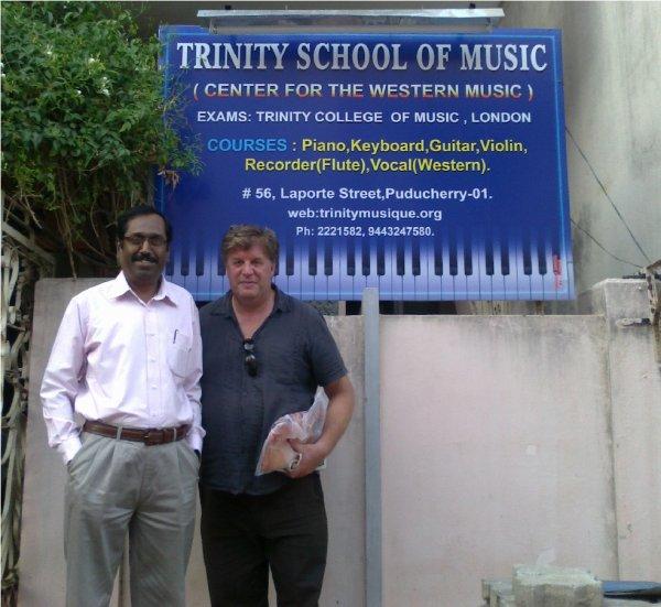 TRINITY SCHOOL MUSIC NOUS OUVRE LES PORTES