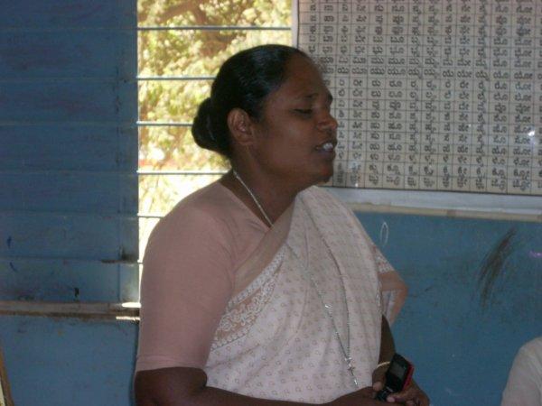 sister Punitha/ Asha Niva