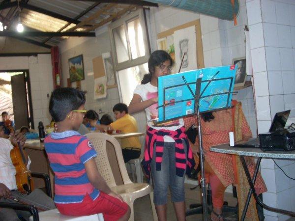 violon class