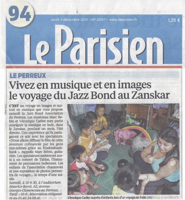 LE PARISIEN .... EN PARLE AUSSI