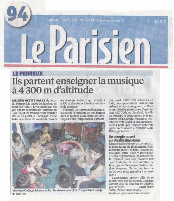 ILS PARTENT A 4300 M POUR ENSEIGNER LA MUSIQUE