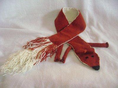 echarpe renard