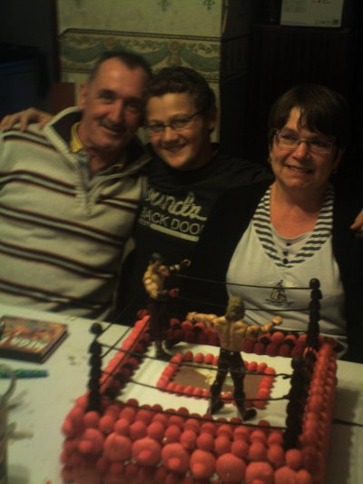 mon oncle avec sa copine et moi