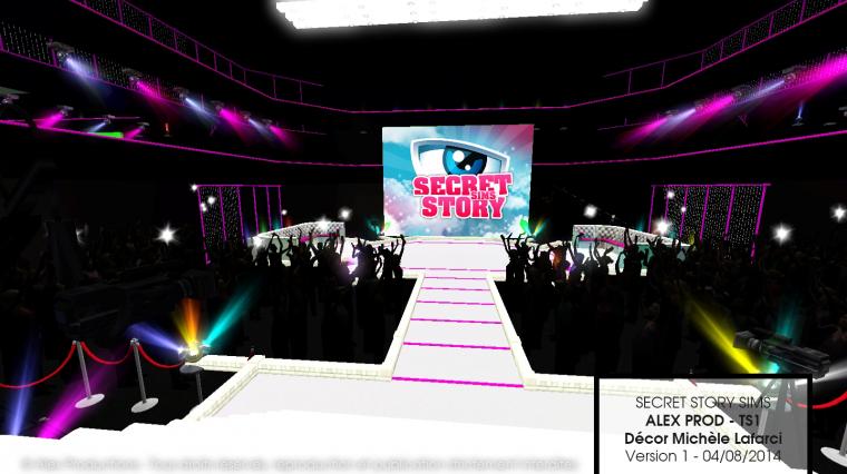 Secret Story Sims 1 - Le plateau inédit dévoilé !