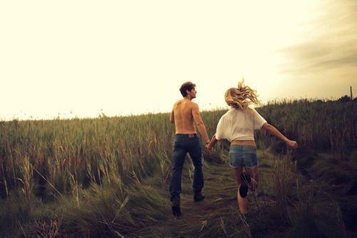 Je t'ai couru après assez longtemps,à toi de courrir à présent.