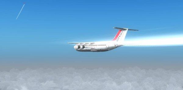 Avro RJ85 de Majesic Sofware entre Nantes et Southampton