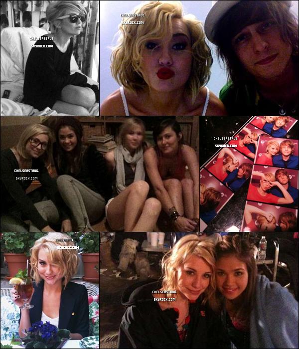 Nouvelles photos Twitter de Chels', dont 2 avec  Nicole Anderson.
