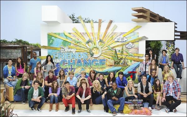 La nouvelle photo pour « Disney's Friends For Change » où apparait, entre autres, Chelsea