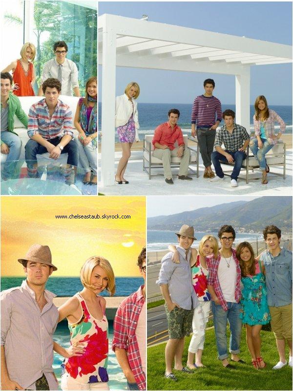 -  Découvrez  quelques photos issues du photoshoot promotionnel de la saison 2 de « JONAS »,« JONAS L.A. »  - PARTIE 1.
