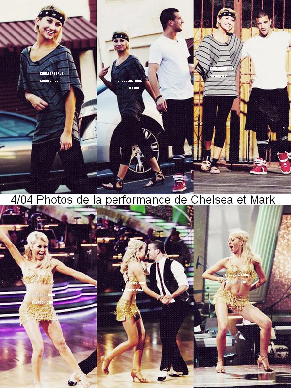 . 20/03 - CHEL' ÉTAIT A UN EVÉNEMENT EN L'HONNEUR DE  DANCING WITH THE STARS.