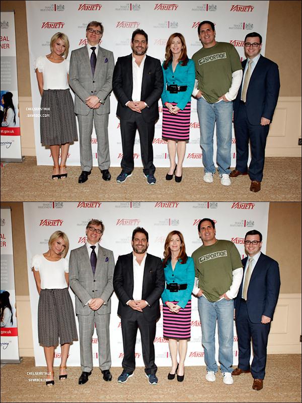LE 08 JUILLET 2011 - CHELSEA AU  « VARIETY'S VENTURE CAPITAL & NEW MEDIA SUMMIT ».
