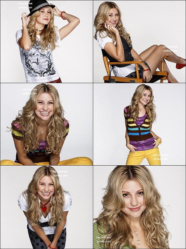 Photoshoot de Chelsea pour le magazine Popstar (2008).