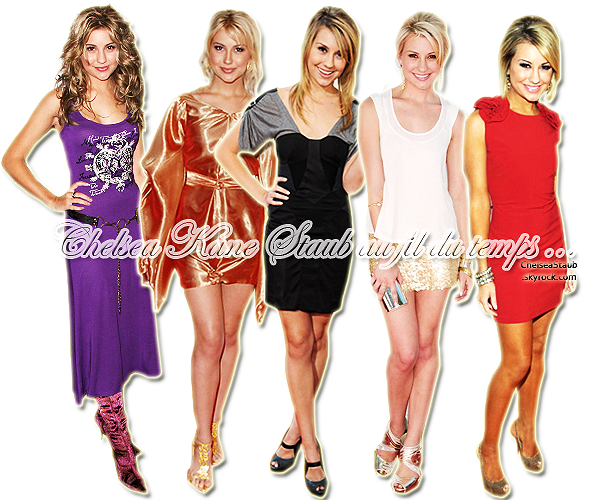 EVOLUTION STYLISTIQUE DE CHELSEA KANE (2007-2011)