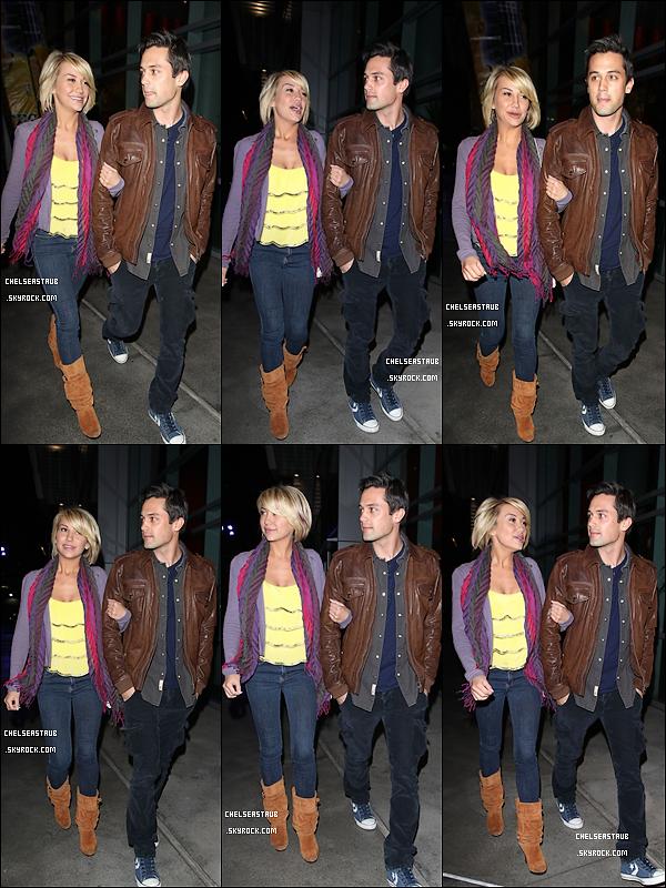 LE 11 FÉVRIER  2012 - CHELSEA A L'ANNIVERSAIRE DE SON PETIT-AMI, STEPHEN COLLETI.