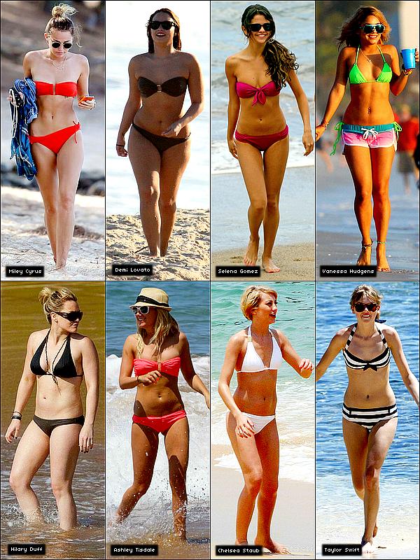 SONDAGE - Quelle ex-star de Disney  est la plus sexy en Bikini ?