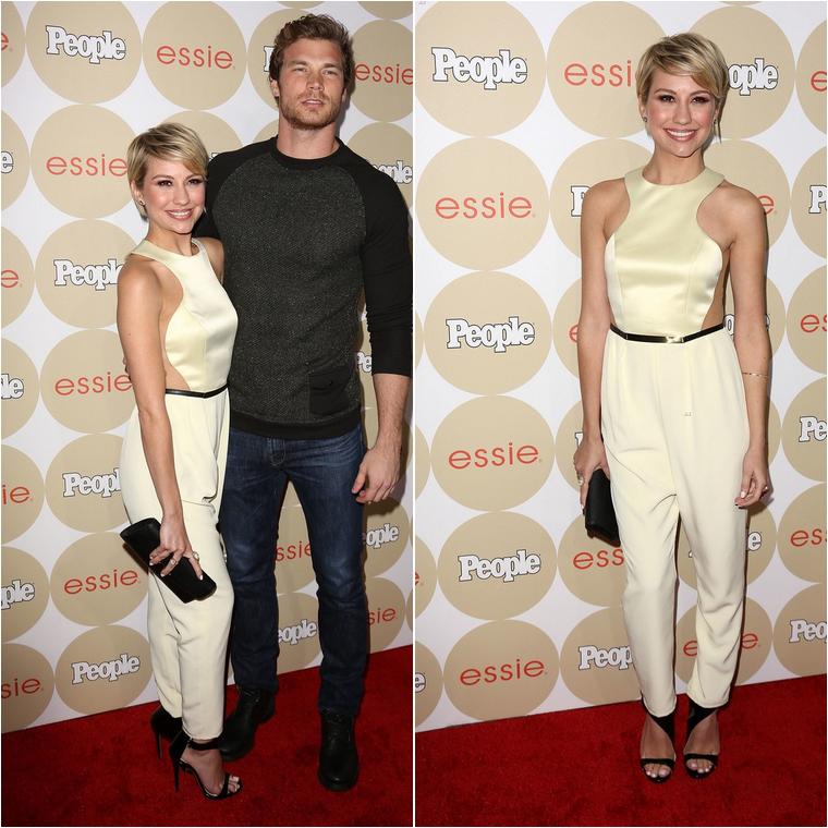 Chelsea était au 2013 Saving SPOT! Benefit à Beverly Hills le 13 octobre 2013. Je n'accroche pas trop avec son rideau, pardon sa robe.