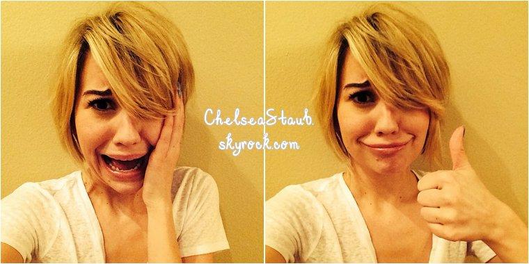 Voici les dernières photos postées sur Instagram par Chelsea, qui ne sort plus de sa tanière.