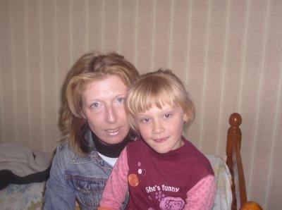 ma soeur avec ma fille