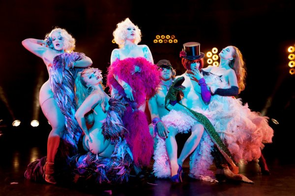 vintage/ burlesque