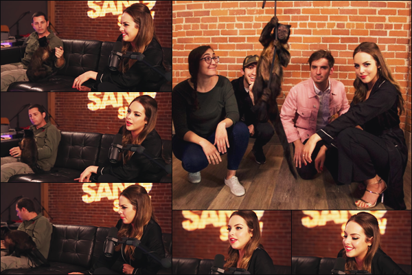 . • 02/05/18  —  Elizabeth à accordée une interview à l'émission de web-radio «  Zach Sang Show » à Los Angeles..