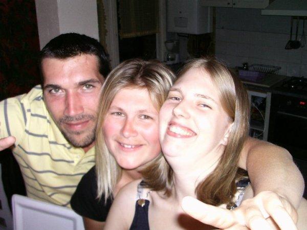 moi, ma soeur o centre et sa cop avant d allé en boite