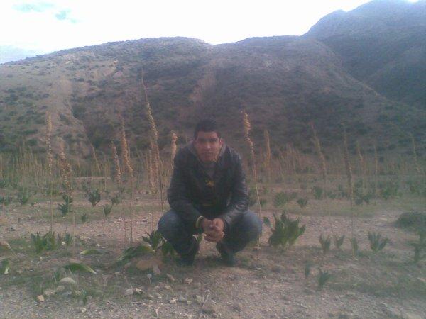 moi dans le montagne