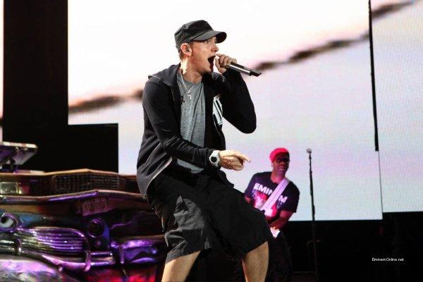 Concert d'Eminem et Jay-Z