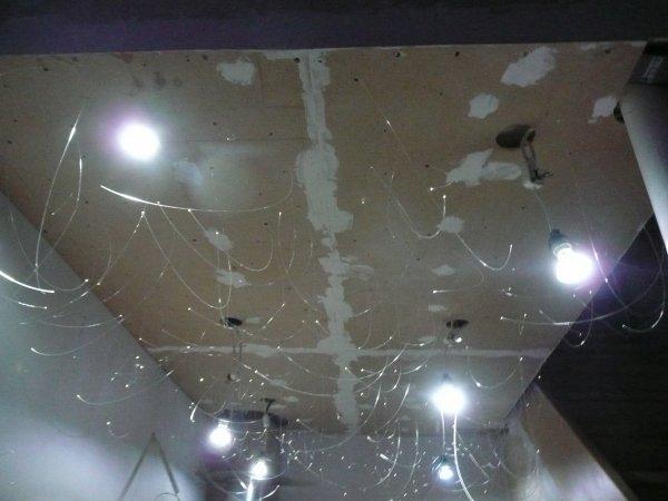 plafond fibre optique amazing cheap plafond lumineux. Black Bedroom Furniture Sets. Home Design Ideas