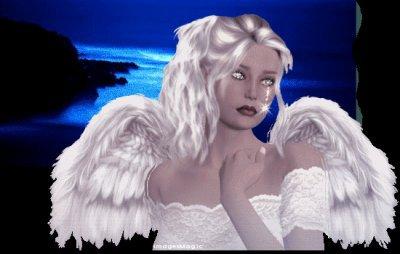 c'est l'ange qui veille sur moi