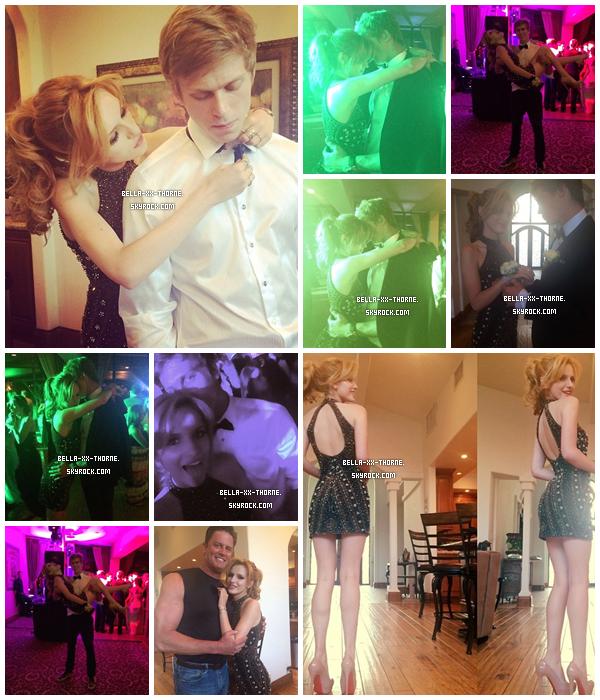 12/04/14 : Bella et Tristan au bal de promo de Tristan.