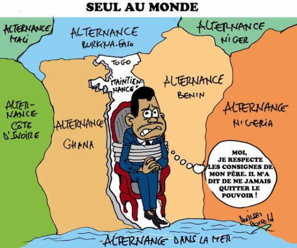 Démocratie, Alternance, Élections locales : Le Togo de l'« empereur » Faure Gnassingbé, finalement la seule plaie de la démocratie…